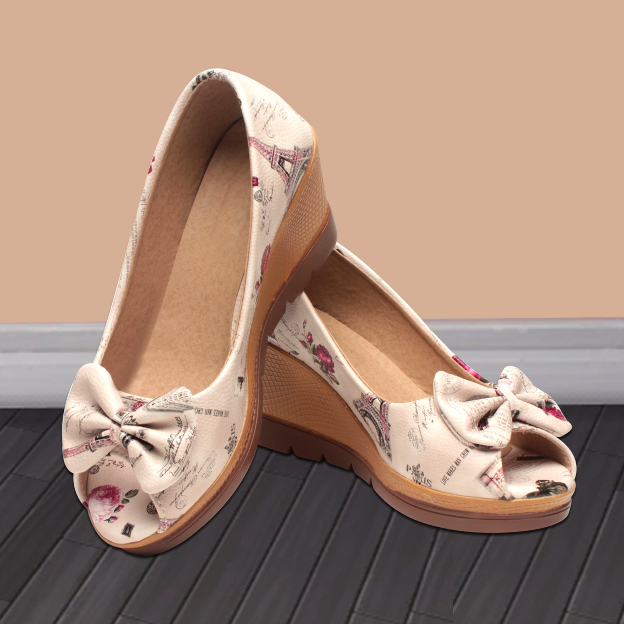 Foot Wear,Time Traveler Wedges - Cippele Multi Store
