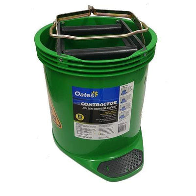 Oates | Oates Contractor Wringer Mop Bucket 15Lt | Crystalwhite Cleaning Supplies Melbourne