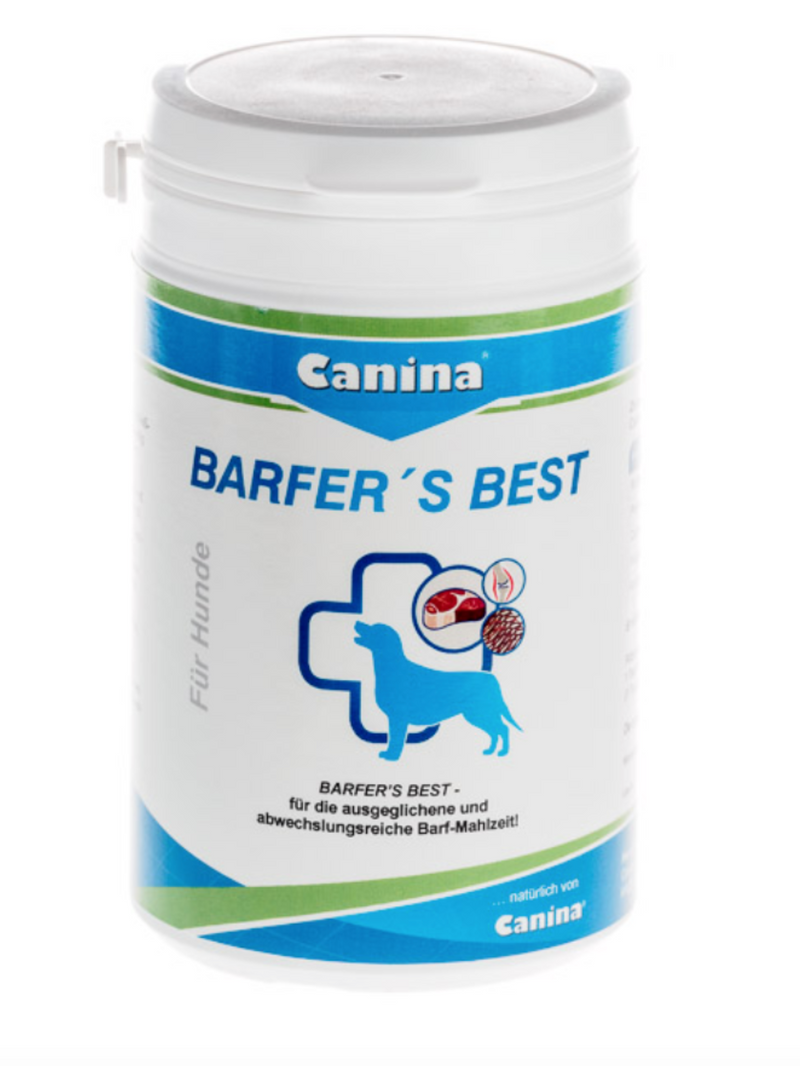 Canina BARFERS BEST 100% Natural Barf Diet Dogs Vitamin and Mineral Supplement