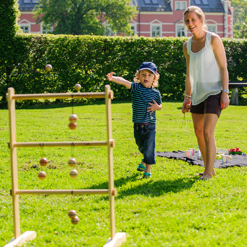 Giant Ladder Garden Game