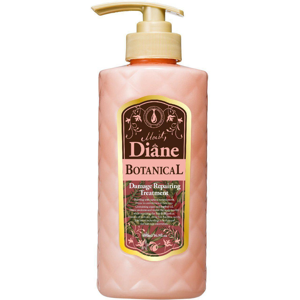 Moist Diane Botanical Damage Repairing Shampoo / Treatment モイストダイアンボタニカルダメージリペアリングシャンプー/トリートメント Life Damage Repairing Treatment Tokyo Direct