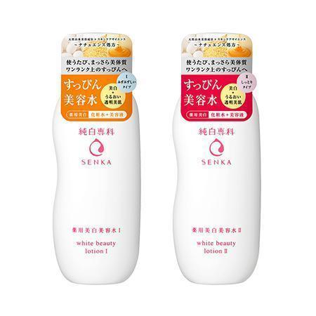 Image of Senka White Beauty Lotion 純白専科すっぴん美容水 Life Bottle I Tokyo Direct