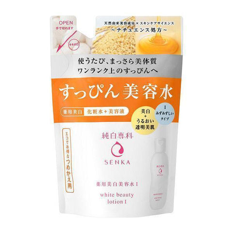 Image of Senka White Beauty Lotion 純白専科すっぴん美容水 Life Refill I Tokyo Direct