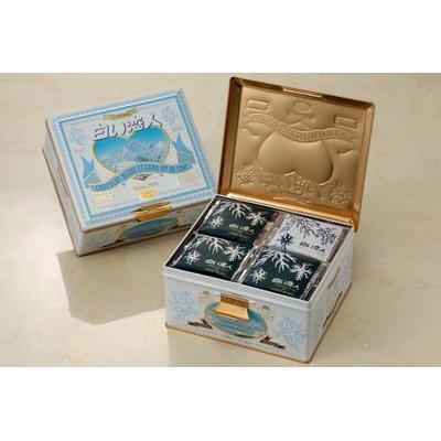 Image of Shiroi Koibito (36 pieces) -white lover chocolate cookie 白い恋人(36枚入) Sweets Tokyo Direct