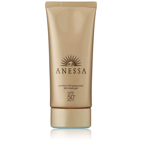 Image of Shiseido ANESSA Perfect UV Sunscreen Skin Care Gel アネッサパーフェクトUVスキンケアジェル Life Tokyo Direct