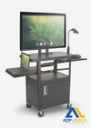ADP HEIGHT ADJUSTABLE FLAT PANEL CART