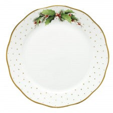 Herend winter shimmer dinner plate