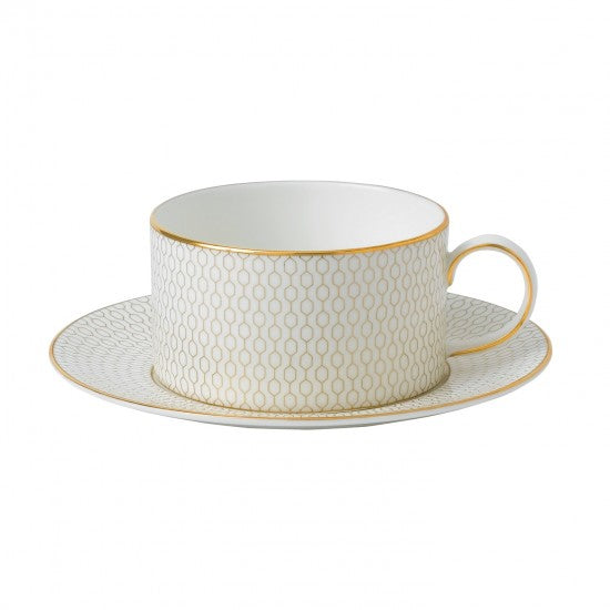 Wedgwood Arris Cup And Saucer