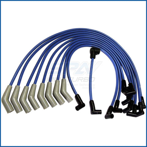 SBF 9.0mm non-HEI spark plug wire set