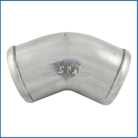 "2.25"" tight radius 45° elbow intake pipe"