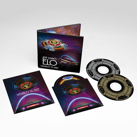 JEFF LYNNE'S ELO - WEMBLEY OR BUST 2CD/BLU-RAY