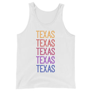 Texas Ombre Tank - The Well Dressed Southern Mess