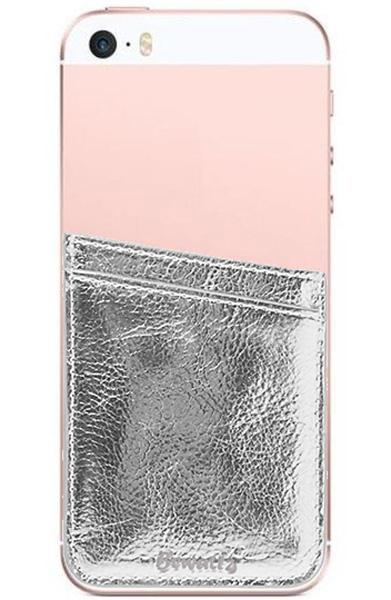 Phone Pocket Rose Silver
