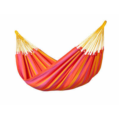 red, yellow and orange weather resistant hammock