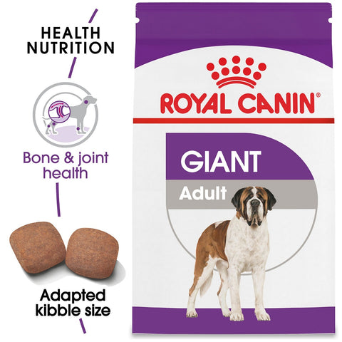 Size Health Nutrition Giant Adult Dry Dog Food