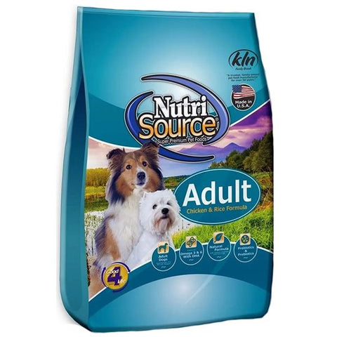 Chicken & Rice Formula Adult Dry Dog Food