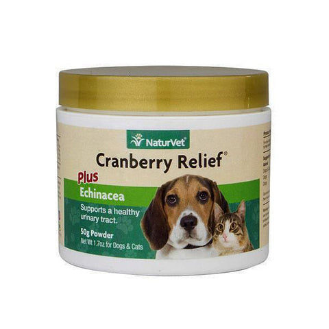 Cranberry Relief Urinary Health Plus Echinacea Dog & Cat Supplement Powder