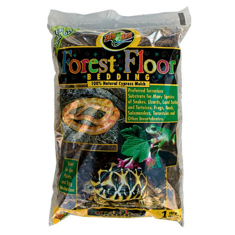 Forest Floor Bedding Natural Cypress Mulch Reptile & Amphibian Substrate