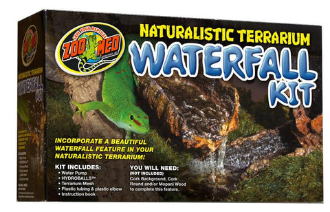 Naturalistic Terrarium Waterfall Kit Supplies