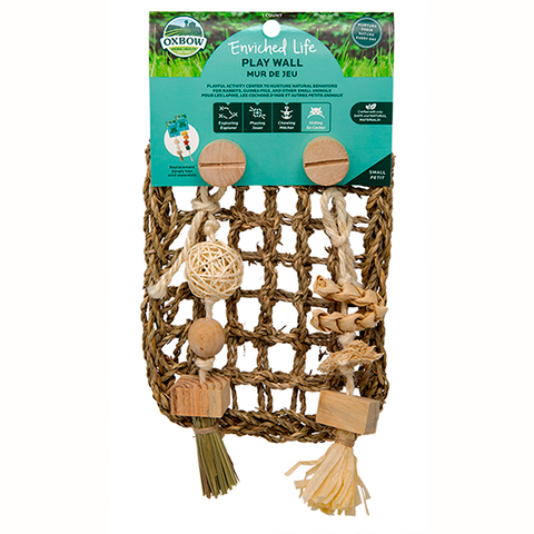 Enriched Life Play Wall Natural Small Animal Rope Chew & Toy