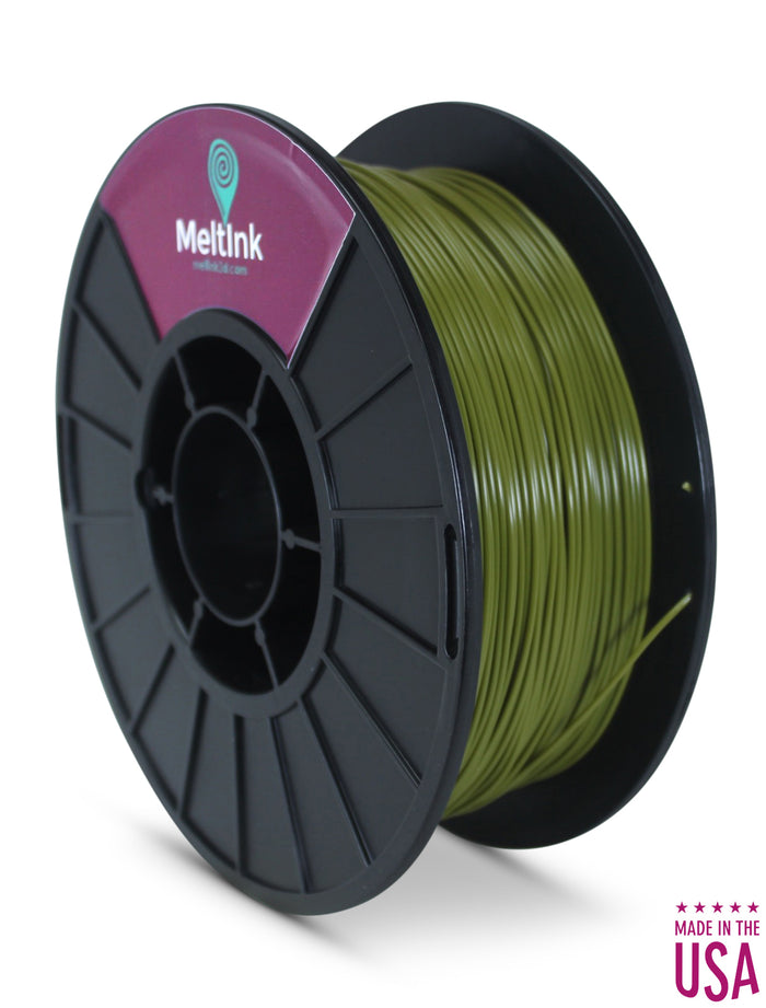 Command Green PLA Ø 2.85mm - Meltink 3D