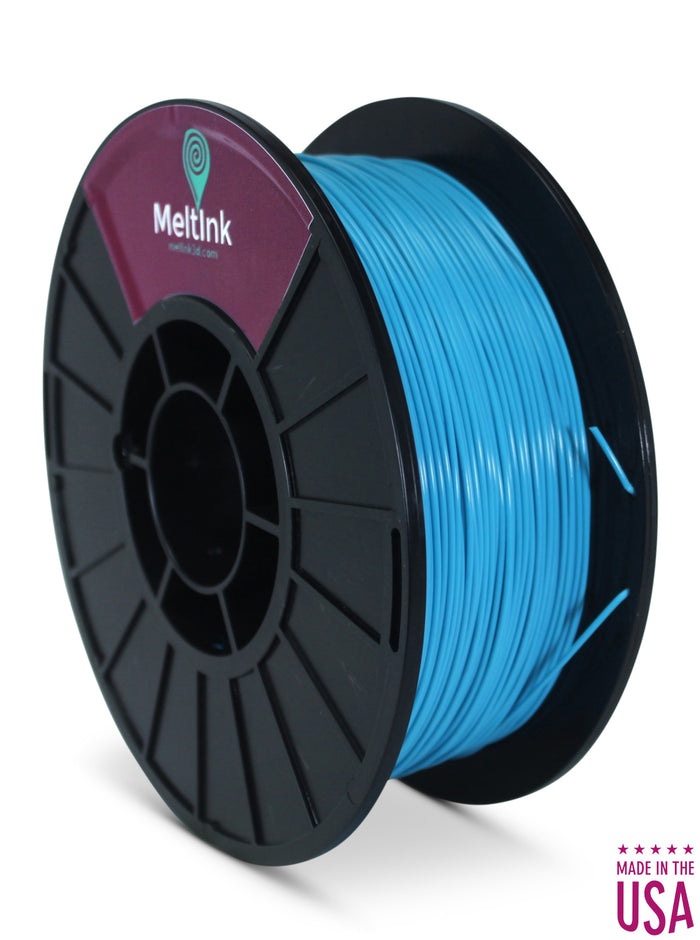 Neon Blue PLA Ø 2.85mm - Meltink 3D