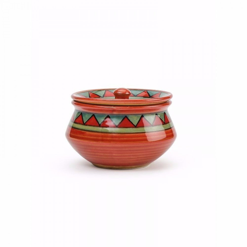 Set of 3 Serving Bowls - Red, Orange, Green Simply Roka