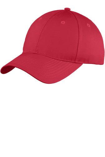 Monogram Baseball Hat - Red - Sew Cute By Katie