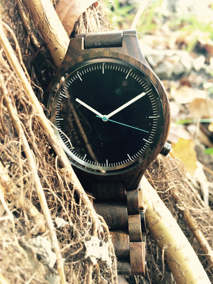 100% wooden watches