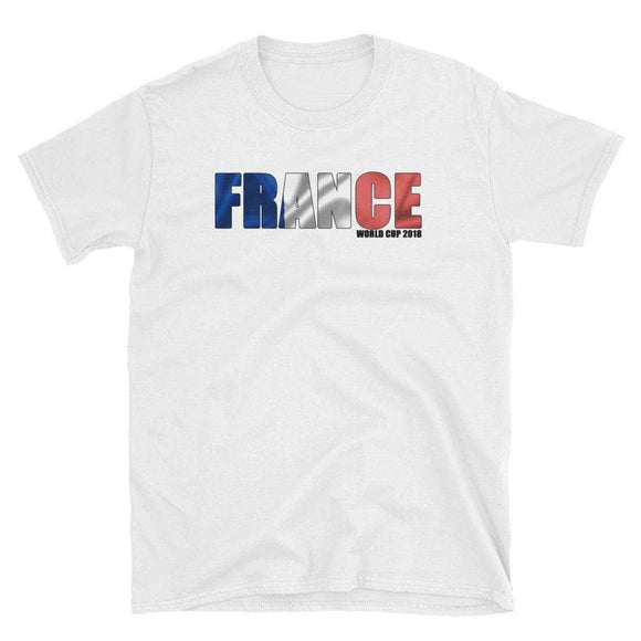 Men's 2018 France World Cup T-Shirt