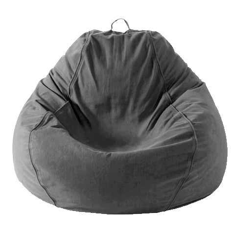 Adult Pear, Twill, Charcoal Grey Beanbag 9  ...BACK IN STOCK JULY 16