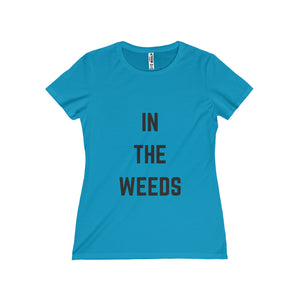 In the Weeds Fitted Tee