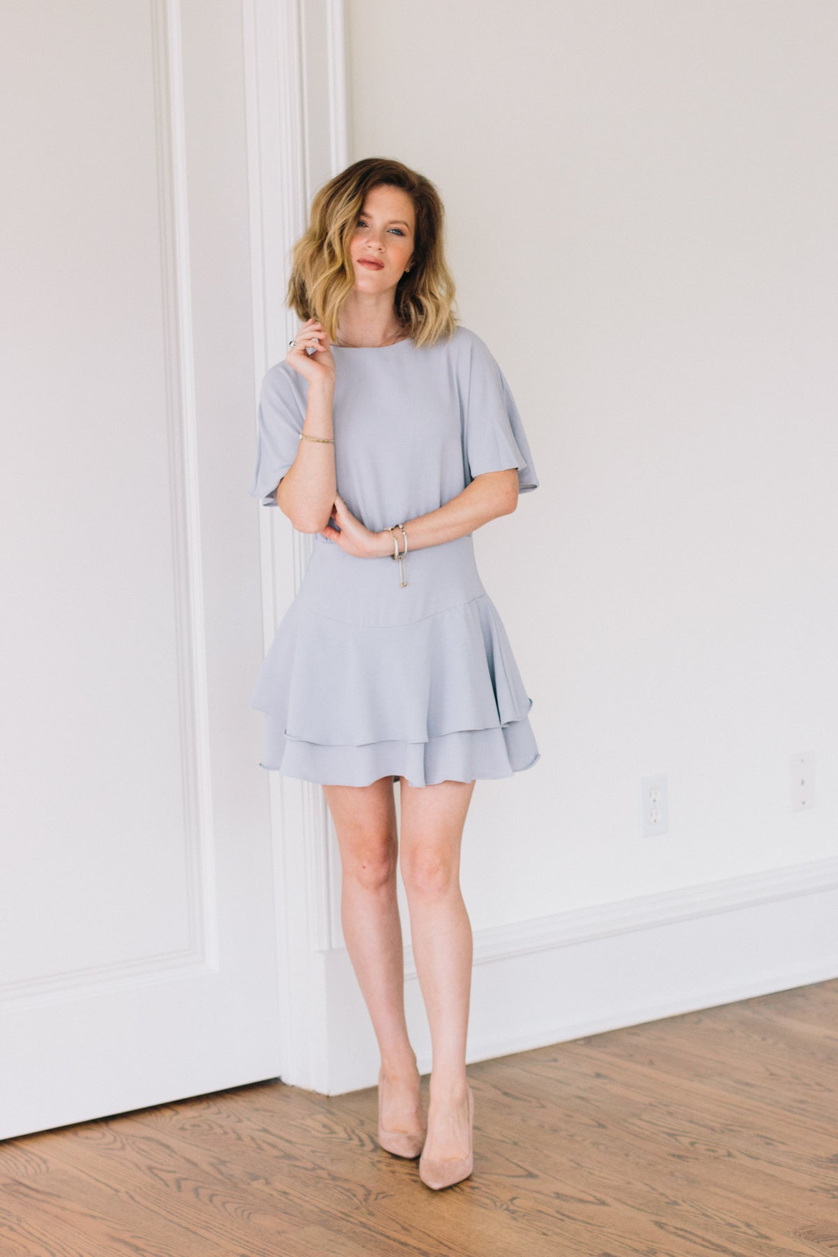 Before I Cry Dress - Dove