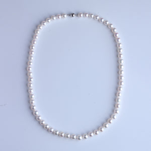 Japan Akoya Pearl Necklace 6.5-7mm