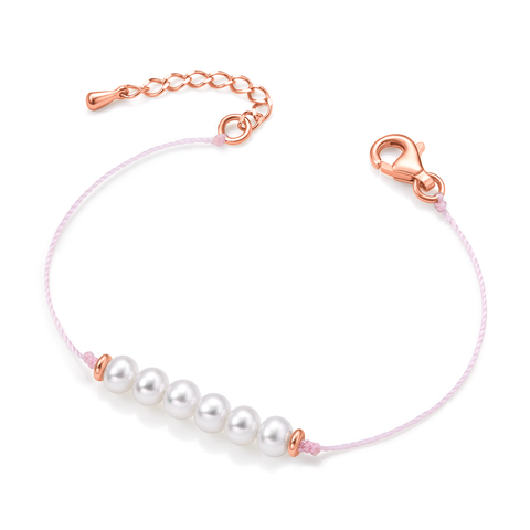 Friendship Bracelet (soft pink)