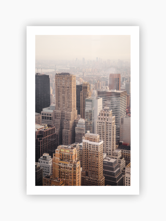 City From Above Poster