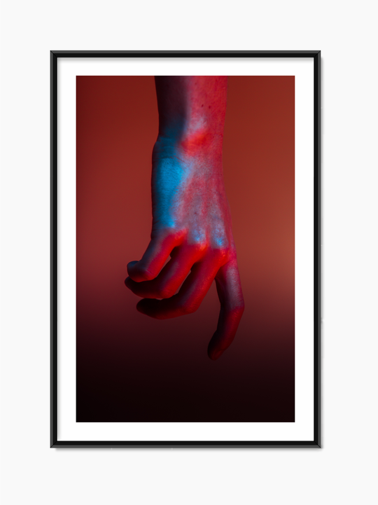 Red Hand Poster