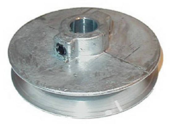 "Chicago Die Casting 175A5 Single V-Groove Die Cast Pulley, 1/2"" x 1-3/4"""
