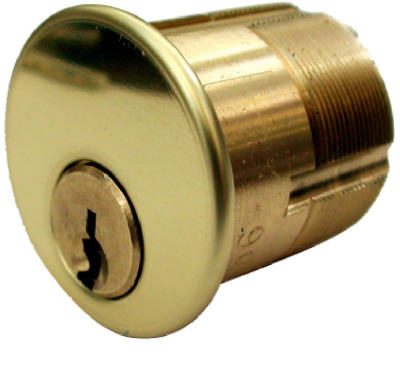 Mortise Cylinder Solid Brass