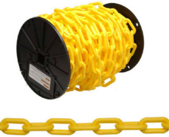 Campbell® 0990837 Plastic Chain, 60', Yellow