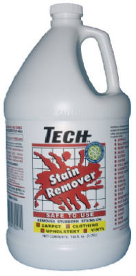 TECH 30001-04S Stain Remover, 1 Gallon