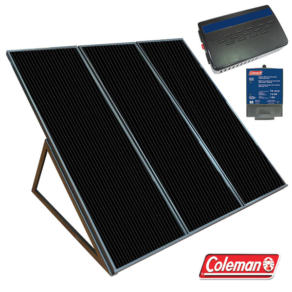 Coleman® 58050 Solar Power Generator Kit, 55 Watt, 12V