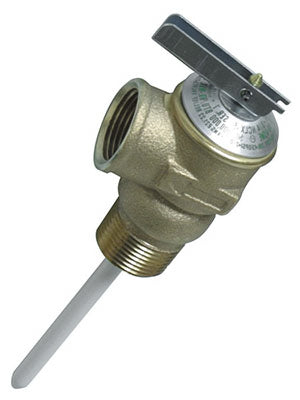 Camco 10453 Water Heater Temperature & Pressure Relief Valve, 2.5""