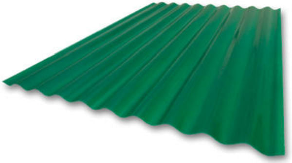 "Crane Composites C25SF.338 Sequentia® Heavy-Duty FRP Panel, Green, 26"" x 8'"