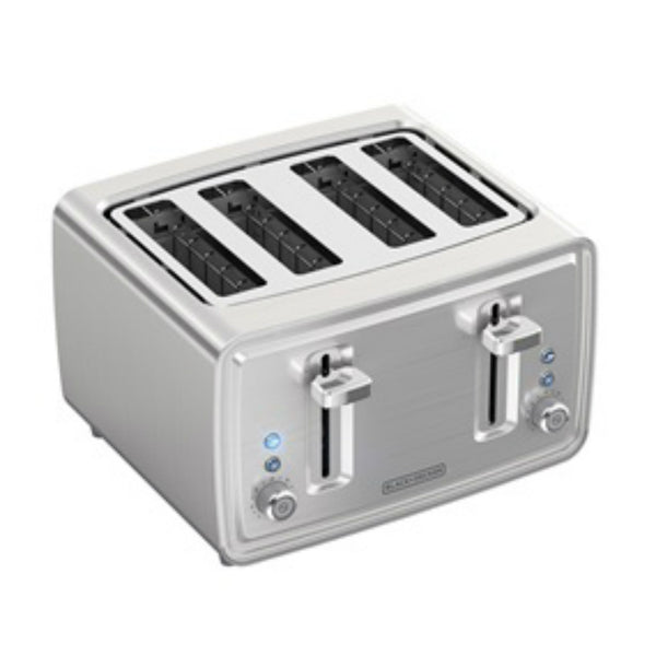 Black & Decker® TR4900SSD Stainless Steel 4-Slice Toaster, 120V, 1500W