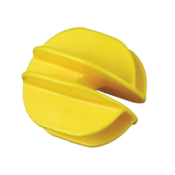 Red Snap'R ICY-RS Yellow Corner Post Insulator, Polyethylene