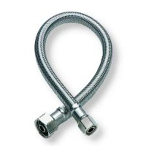 "Fluidmaster 1F36 Faucet Connector, 3/8"" x 1/2"" x 36"", Braided Stainless Steel"