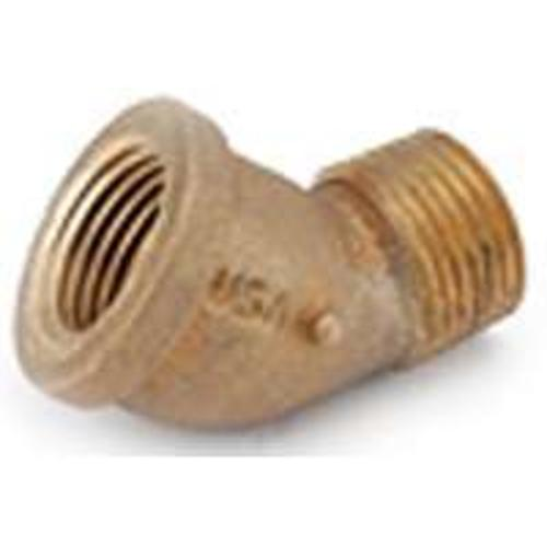 Anderson Metals 738124-08 Elbow  Pipe Fittings - Brass