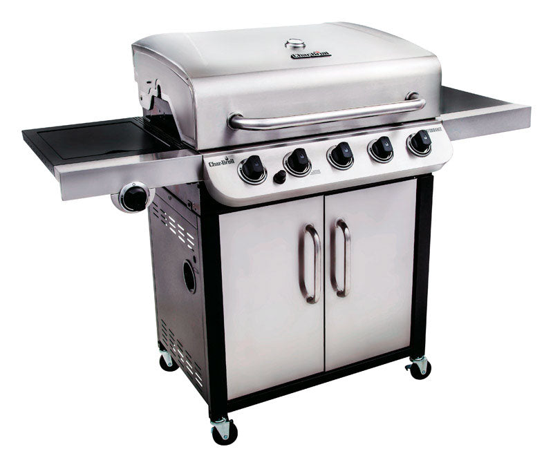 Char-Broil 463275517 Performance Stand Alone LP Gas Grill, Silver, 550 sq. in.