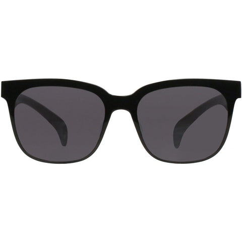 Black square sunglasses view 1